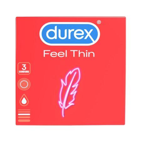 Durex Feel Thin - élethű érzés óvszer (3db)