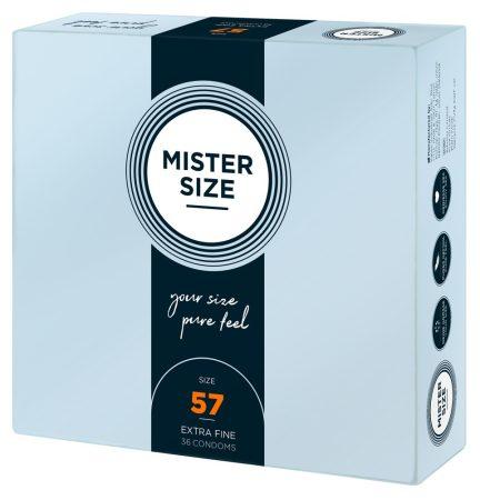Mister Size vékony óvszer - 57mm (36db)