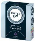 Mister Size vékony óvszer - 69mm (3db)