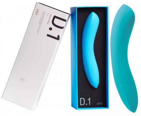 LAID D.1 - szilikon G-pont dildó (kék)