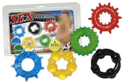 Szex-maraton péniszgyűrűk