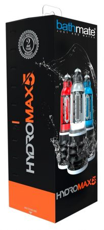 Bathmate Hydromax5 - hydropumpa (áttetsző)