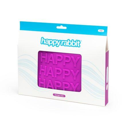 Happyrabbit - szex-játék neszeszer (lila) - nagy