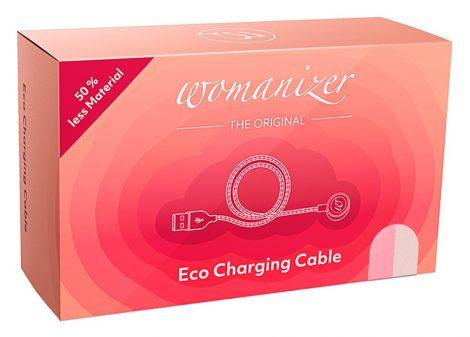 Womanizer Premium Eco - mágneses USB-töltőkábel (natúr)