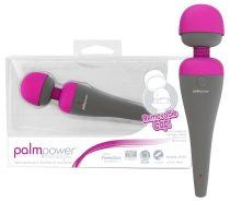 PalmPower masszírozó vibrátor, cserélhető fejjel