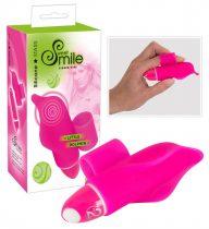 SMILE Little Dolphin - ujj vibrátor (pink)