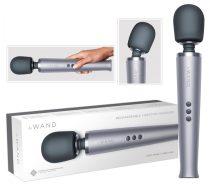 le WAND - exkluzív, akkus masszírozó vibrátor (ezüst)