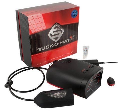 Suck-O-Mat 2.0 - rádiós, hálózati szuper-szívó maszturbátor