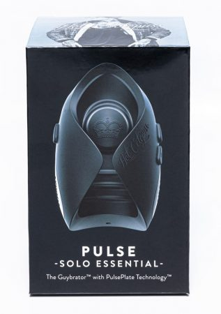 Hot Octopuss Pulse Solo Essential - akkus maszturbátor (fekete)