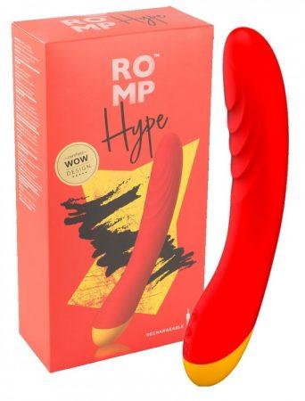 ROMP Hype - akkus, vízálló G-pont vibrátor (narancs)