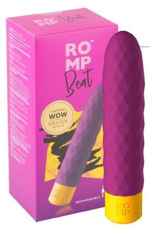 ROMP Beat - akkus, vízálló rúd vibrátor (lila)