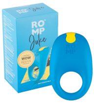 ROMP Juke - akkus, vízálló péniszgyűrű (kék)