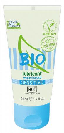 HOT Bio Sensitive - vegán vízbázisú síkosító (50ml)