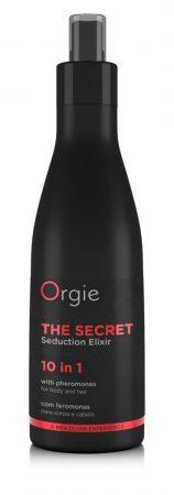 Orgie Secret Elixir - feromonos haj- és testápoló spray nőknek (200ml)