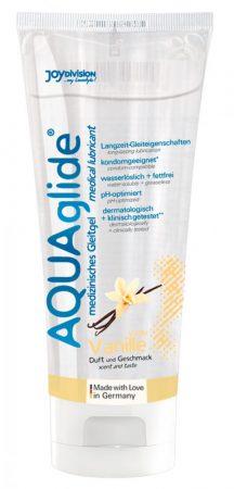 AQUAglide vízbázisú síkosító - vanília (100ml)