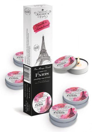 Petits Joujoux Paris - masszázsgyertya szett - 5db (vanília-szantálfa)