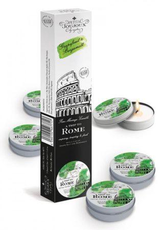Petits Joujoux Rome - masszázsgyertya szett - 5db (grapefruit-bergamot)