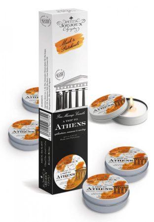 Petits Joujoux Athens - masszázsgyertya szett - 5db (pézsma-pacsuli)