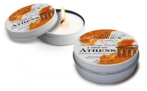Petits Joujoux Athens - masszázsgyertya - 43ml (pézsma-pacsuli)