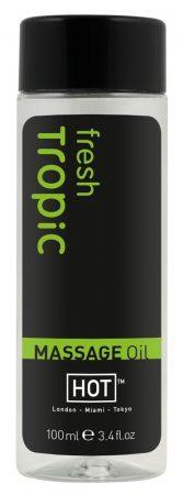 HOT masszázsolaj - friss trópus(100ml)