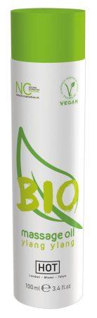 HOT BIO - vegán masszázsolaj - ylang ylang (100ml)