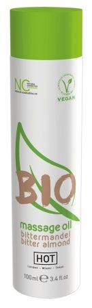 HOT BIO - vegán masszázsolaj - mandula (100ml)