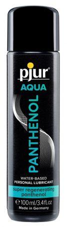 pjur AQUA Panthenol - regeneráló, vízbázisú anál síkosító (100ml)
