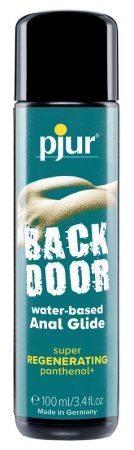 pjur BACK DOOR Regenerating - vízbázisú anál síkosító (100ml)