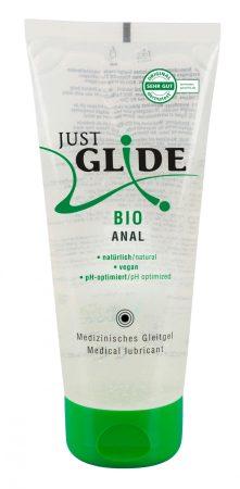 Just Glide Bio ANAL - vízbázisú vegán síkosító (200ml)