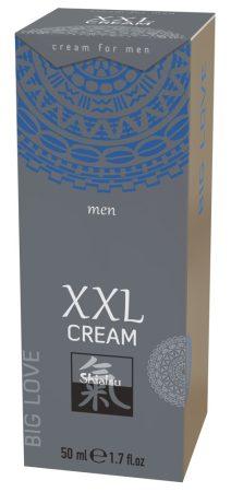 HOT Shiatsu XXL - melegítő, stimuláló intim krém férfiaknak (50ml)