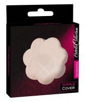 Cottelli Nipple Cover - virág mellbimbó tapasz (natúr) - 12db