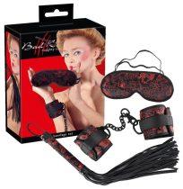 Bad Kitty - ázsia szett (vörös-fekete)