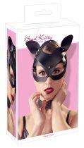 Bad Kitty - műbőr, strasszos cicamaszk (fekete)