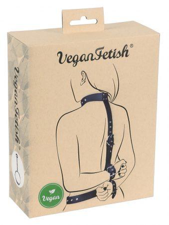 Vegan Fetish - kezeket hátra kötöző szett (fekete)