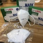 KN95 (FFP2) - Légzésvédelmi arcmaszk - fehér (1db)