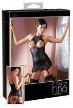 Abierta Fina - merész csillogás - miniruha (fekete)