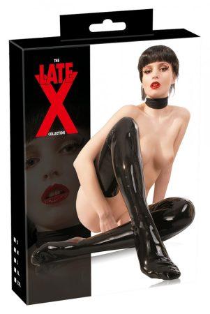 LATEX - női harisnya (fekete)
