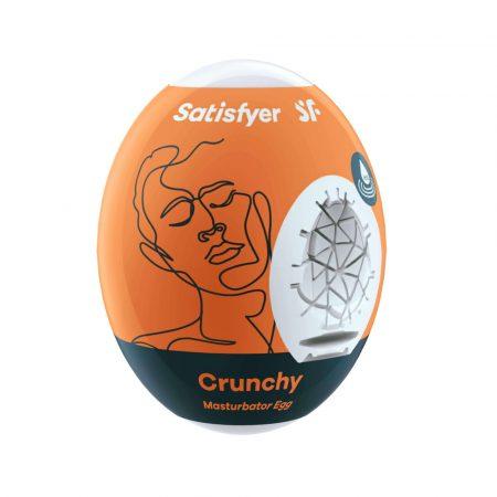 Satisfyer Egg Crunchy - maszturbációs tojás (1db)