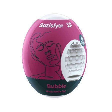 Satisfyer Egg Bubble - maszturbációs tojás (1db)