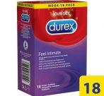 Durex Feel Intimate - vékonyfalú óvszer (18db)