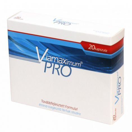 Viamaximum Pro - étrend-kiegészítő férfiaknak (20db)