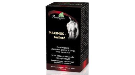 MAXIMUS vitamin komplex férfiaknak kifejlesztve (90db)