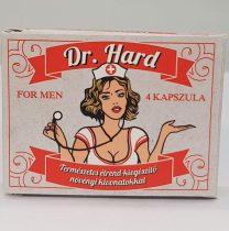 Dr. Hard for men - természetes étrendkiegészítő férfiaknak (4db)