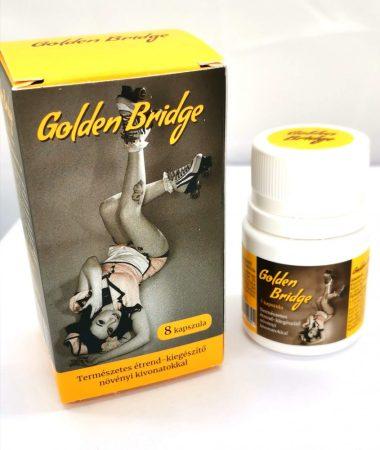 Golden Bridge For Men - természetes étrend-kiegészítő növényi kivonatokkal (8db)