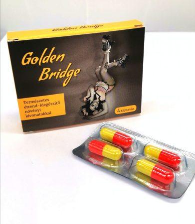 Golden Bridge For Men - természetes étrend-kiegészítő növényi kivonatokkal (4db)