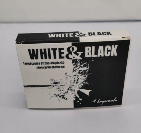 White & Black - erős, étrend kiegészítő férfiaknak (4db)