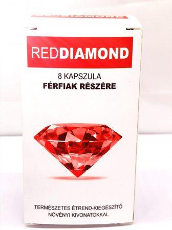 Red Diamond  - természetes étrend-kiegészítő férfiaknak (8db)