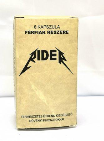 Rider - természetes étrend-kiegészítő férfiaknak (8db)