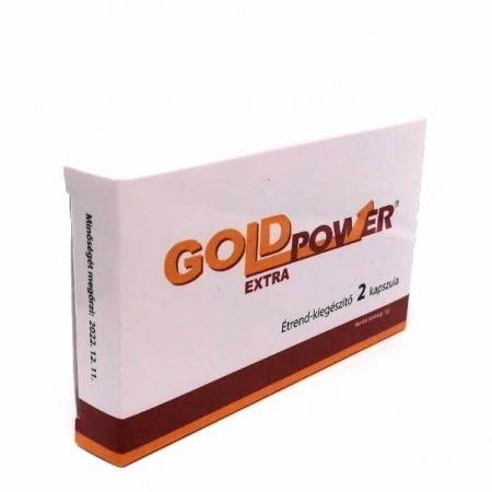 Gold Power - étrendkiegészítő kapszula férfiaknak (2db)