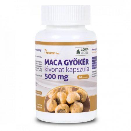 Netamin Maca gyökér kivonat 500 - étrendkiegészítő kapszula nőknek és férfiaknak (60db)